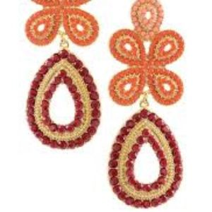 Capri Chandelier - Coral Earrings (Retail: $49)